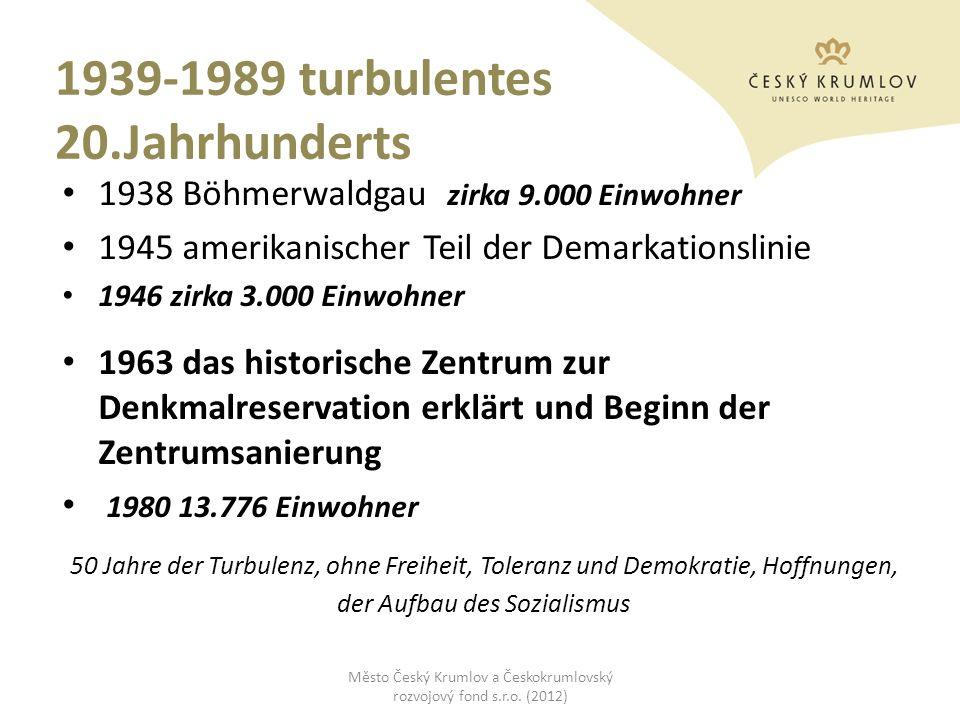 1939-1989 turbulentes 20.Jahrhunderts