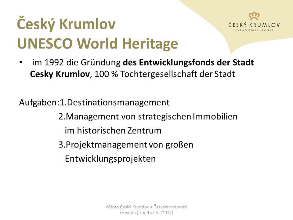 Český Krumlov UNESCO World Heritage
