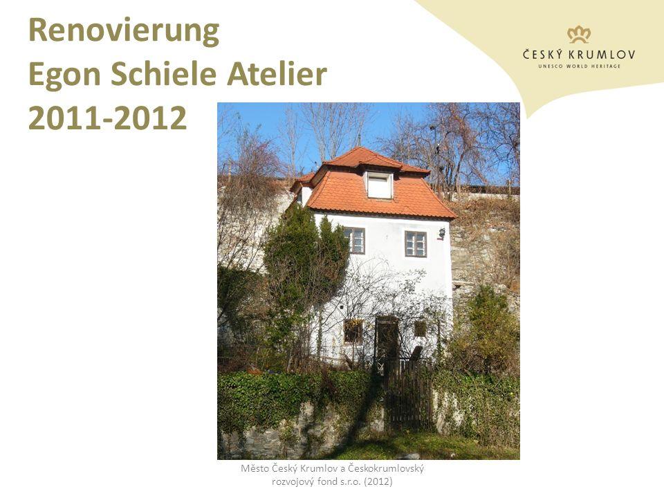 Renovierung Egon Schiele Atelier 2011-2012