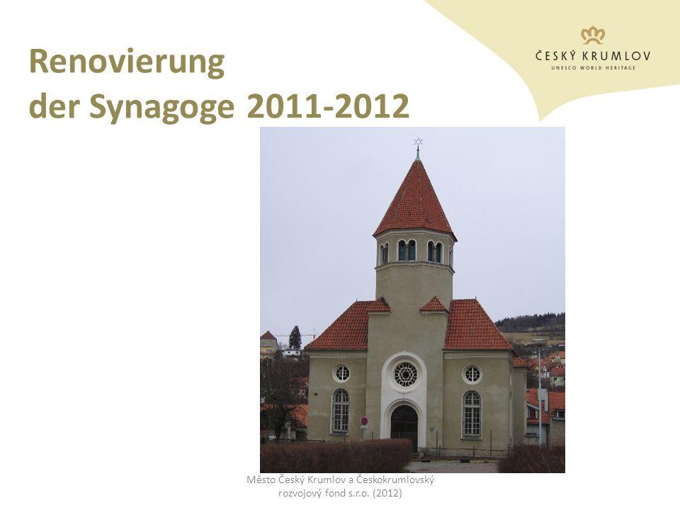 Renovierung der Synagoge 2011-2012