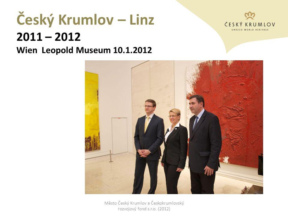 Český Krumlov – Linz 2011 – 2012 Wien Leopold Museum 10.1.2012