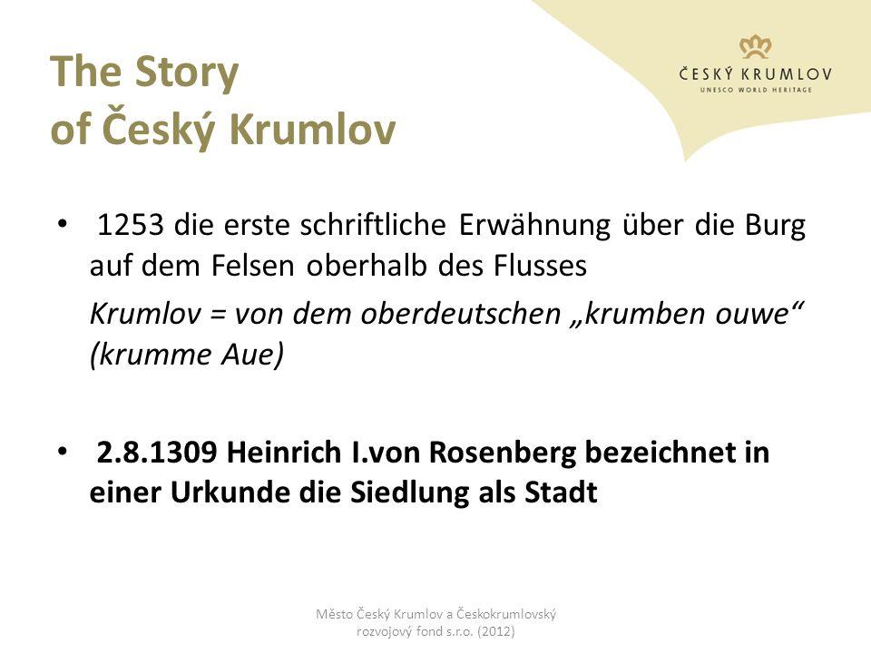 The Story of Český Krumlov