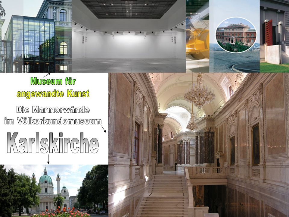 Karlskirche Museum für angewandte Kunst Die Marmorwände