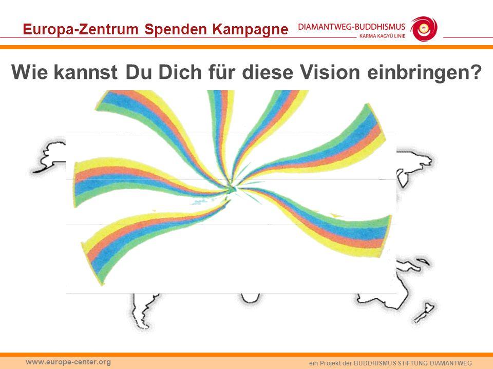 Europa-Zentrum Spenden Kampagne