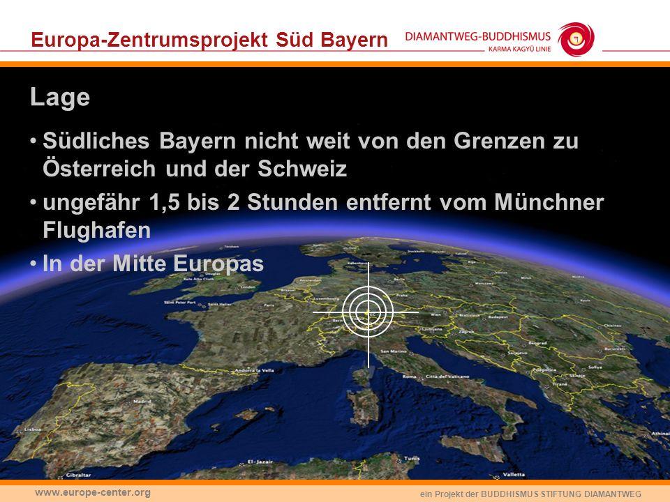 Europa-Zentrumsprojekt Süd Bayern