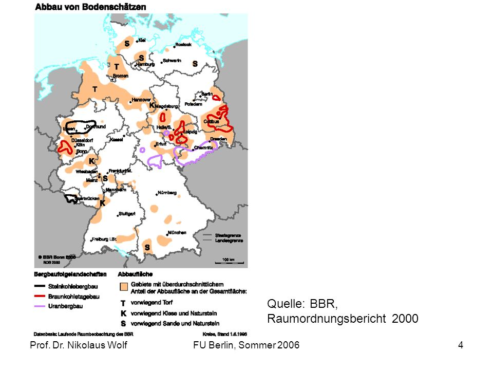 Quelle: BBR, Raumordnungsbericht 2000 Prof. Dr. Nikolaus Wolf