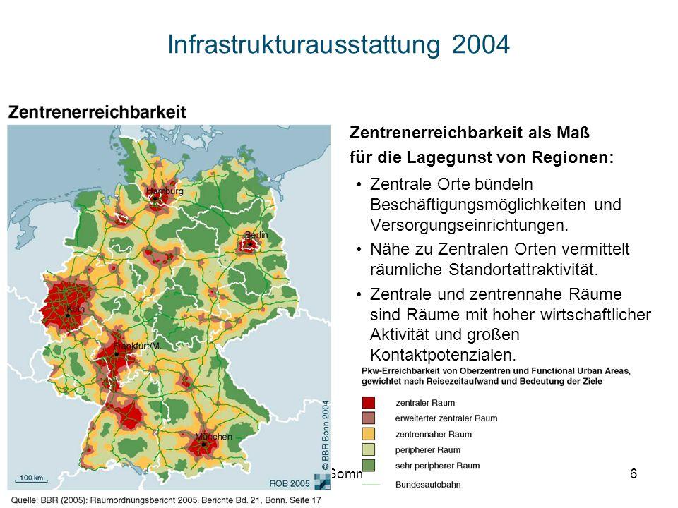 Infrastrukturausstattung 2004