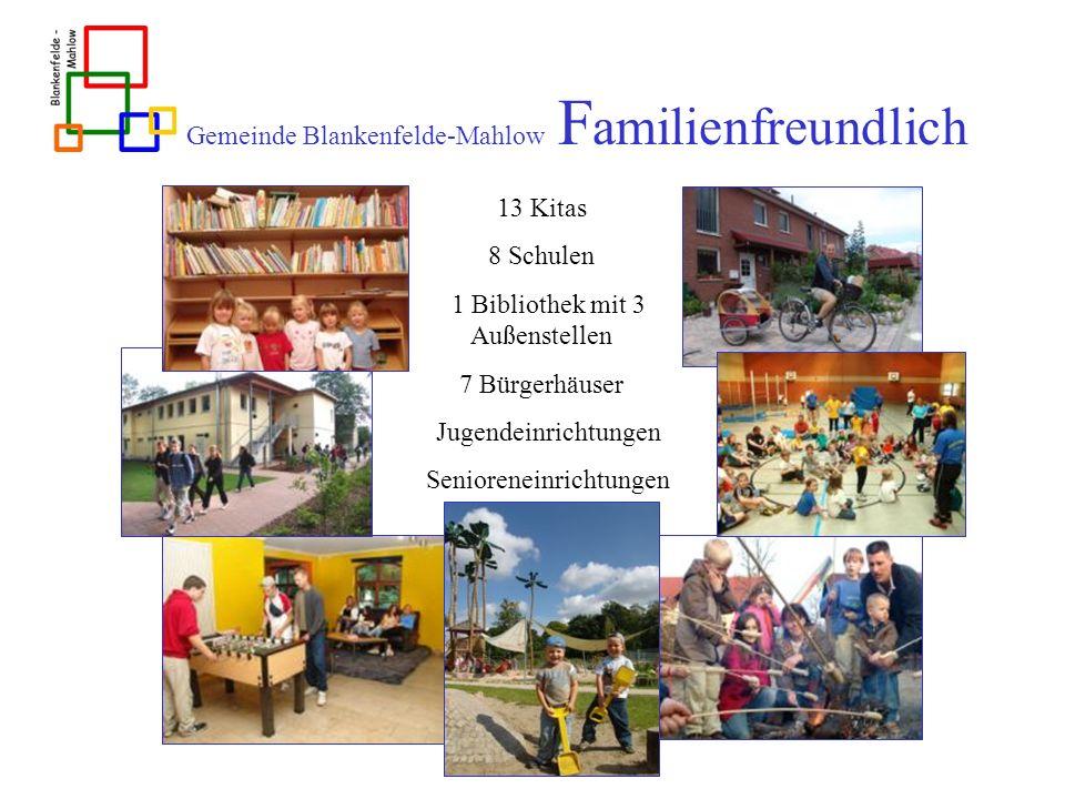 Gemeinde Blankenfelde-Mahlow Familienfreundlich