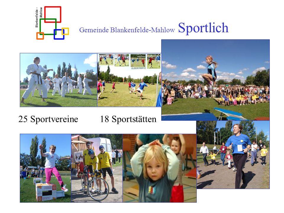 Gemeinde Blankenfelde-Mahlow Sportlich