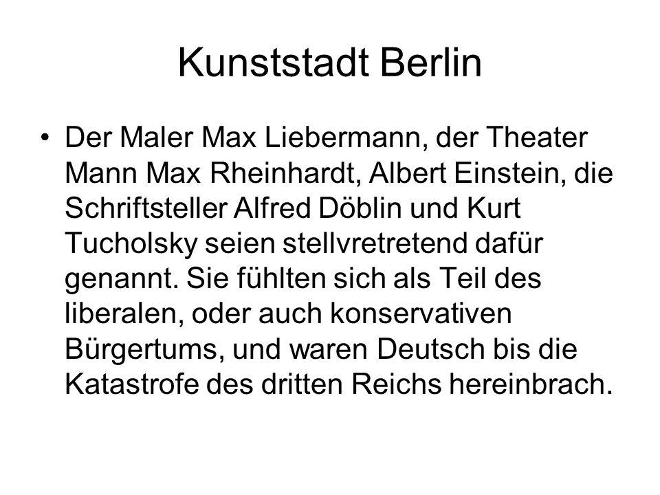 Kunststadt Berlin