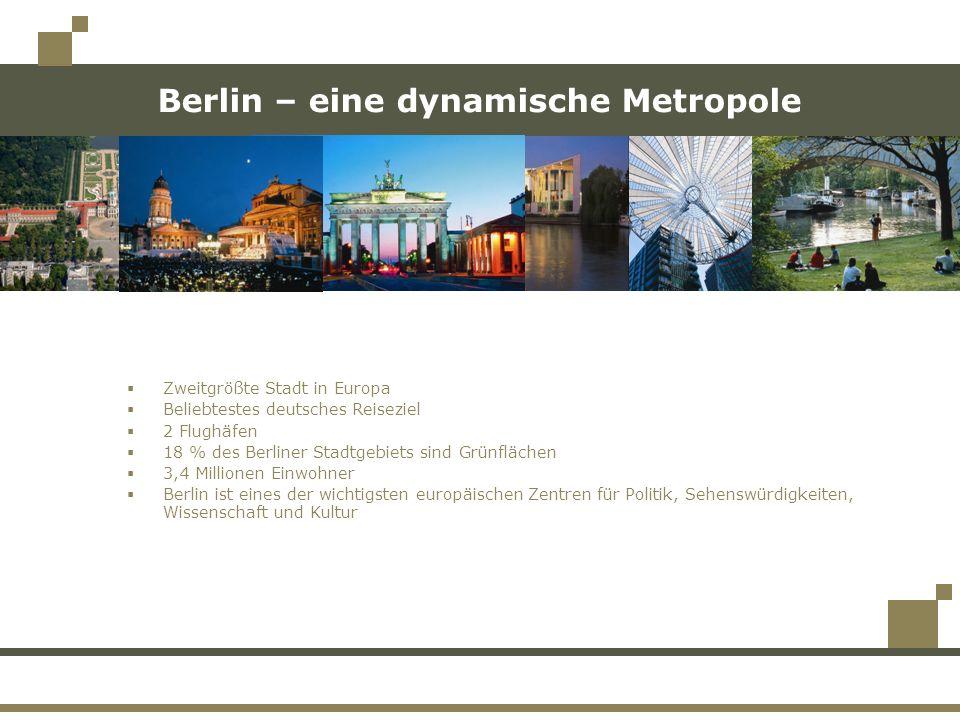 Berlin – eine dynamische Metropole