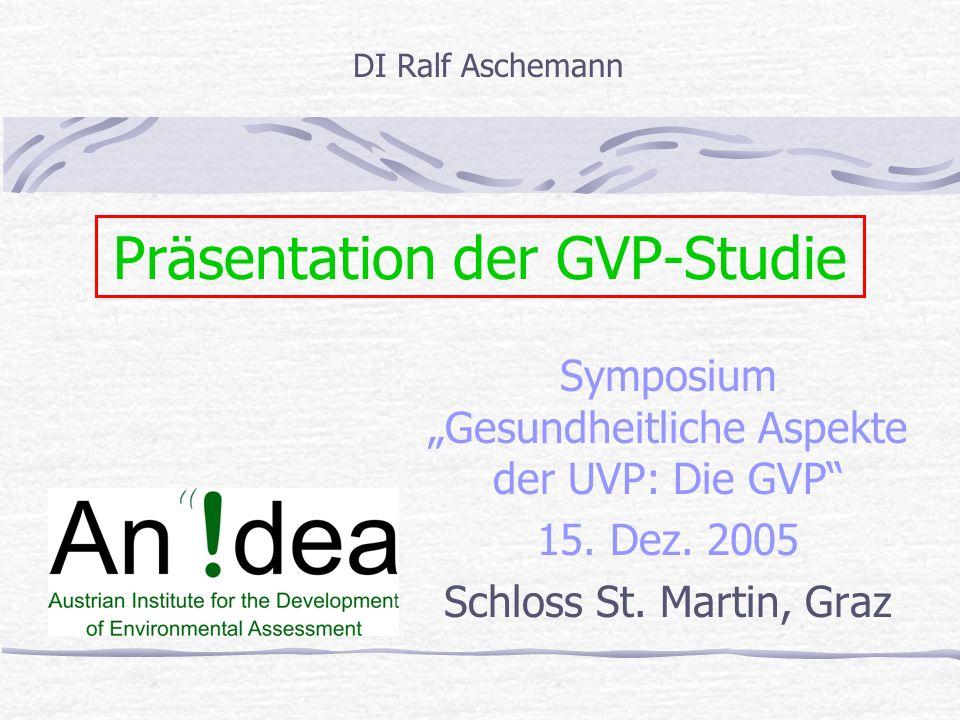 Präsentation der GVP-Studie