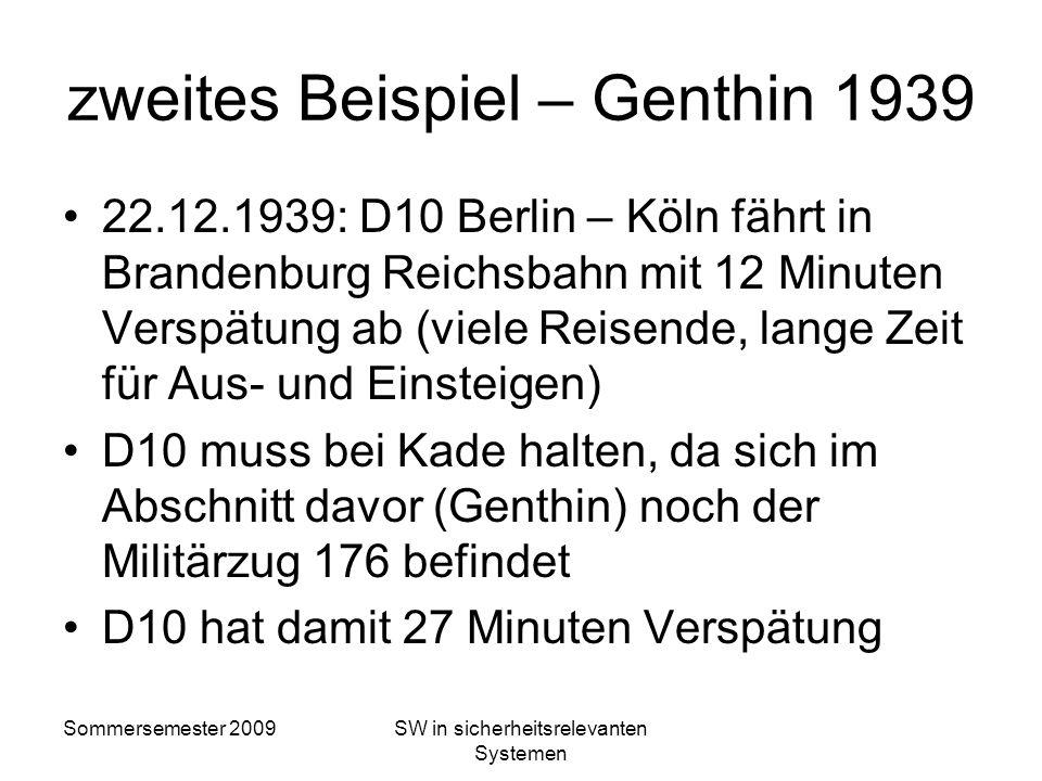 zweites Beispiel – Genthin 1939