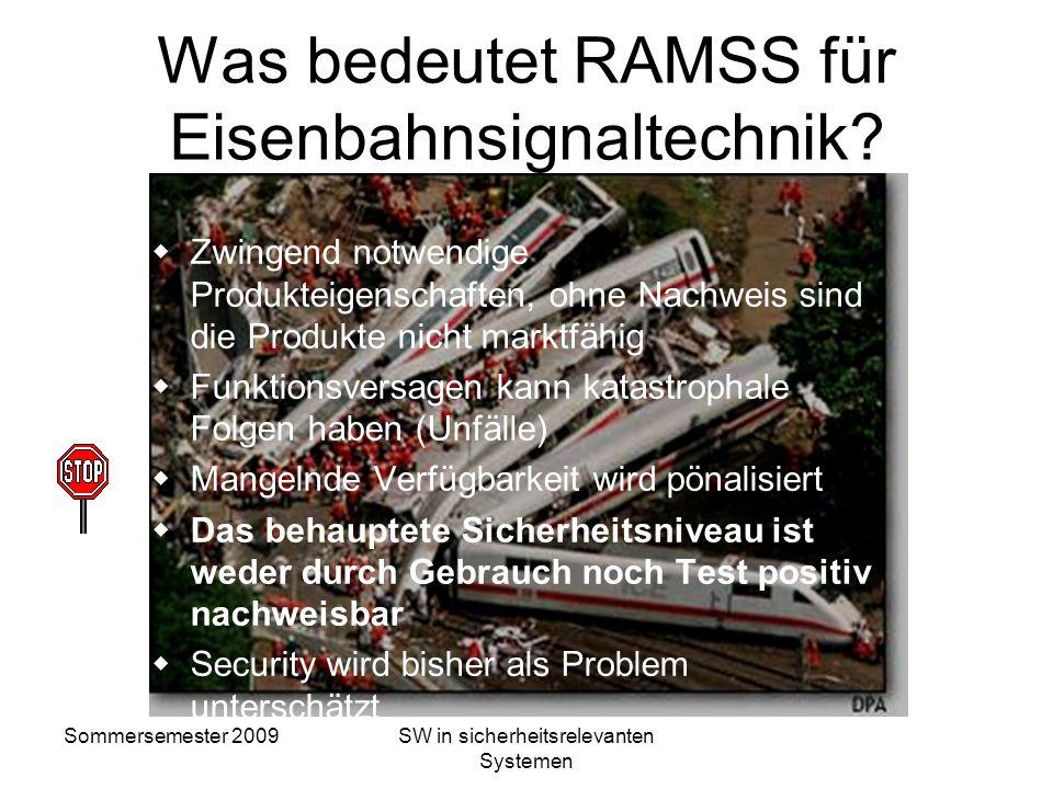 Was bedeutet RAMSS für Eisenbahnsignaltechnik