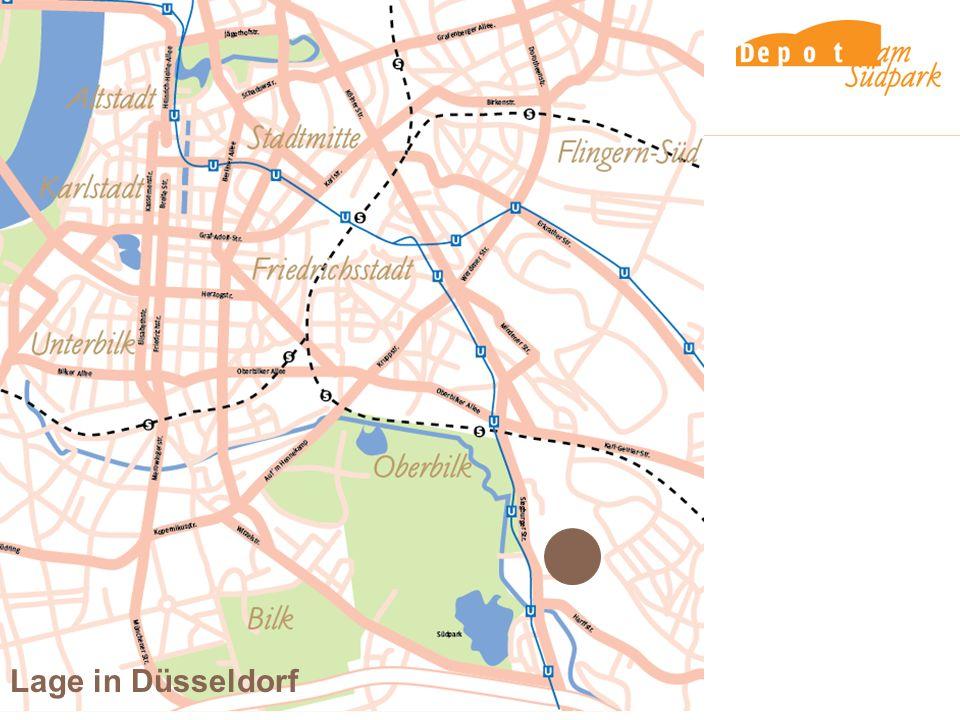 Lage in Düsseldorf