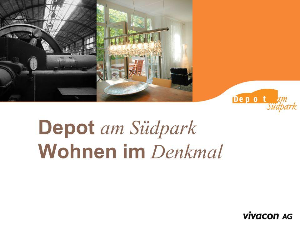 Depot am Südpark Wohnen im Denkmal