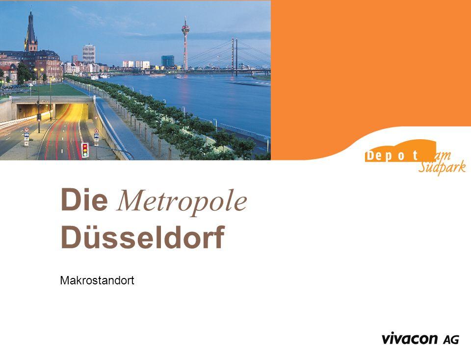 Die Metropole Düsseldorf