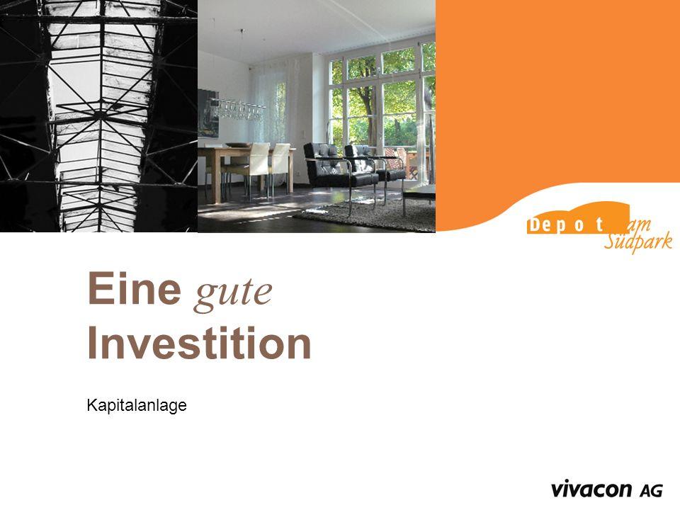 Eine gute Investition Kapitalanlage