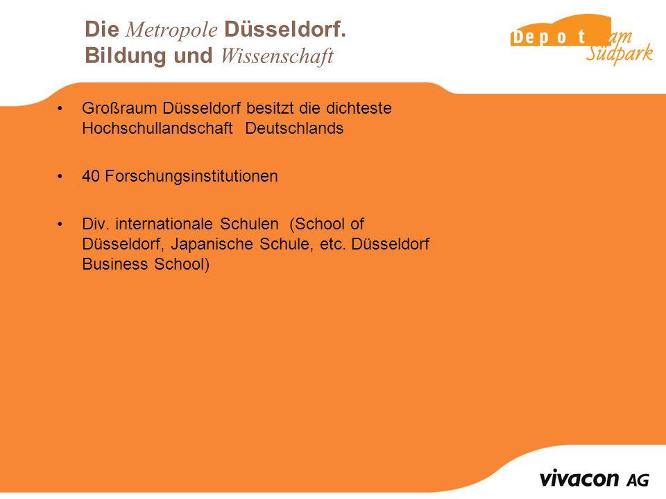 Die Metropole Düsseldorf. Bildung und Wissenschaft