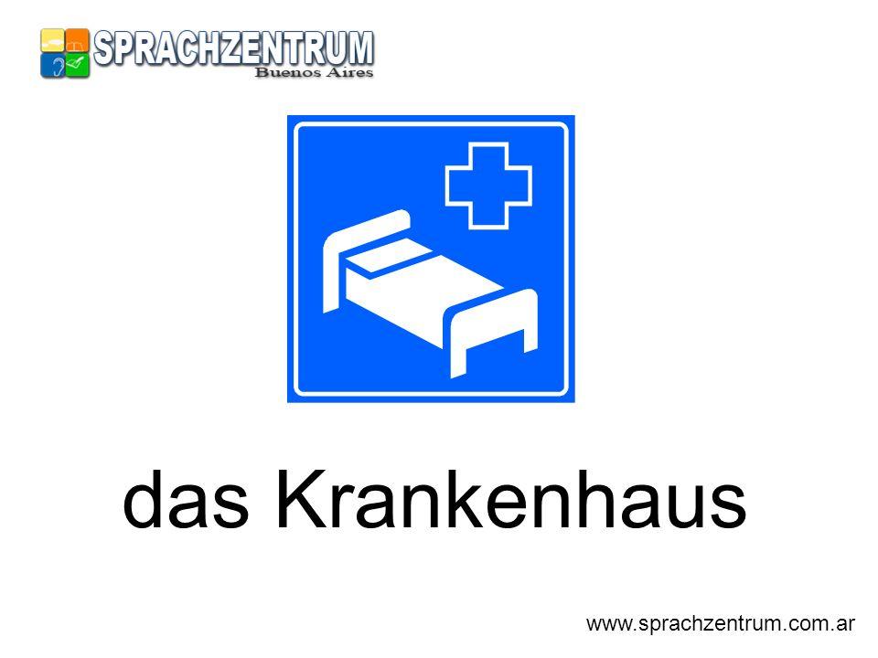 das Krankenhaus www.sprachzentrum.com.ar
