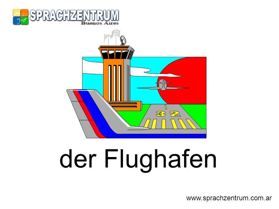 der Flughafen www.sprachzentrum.com.ar