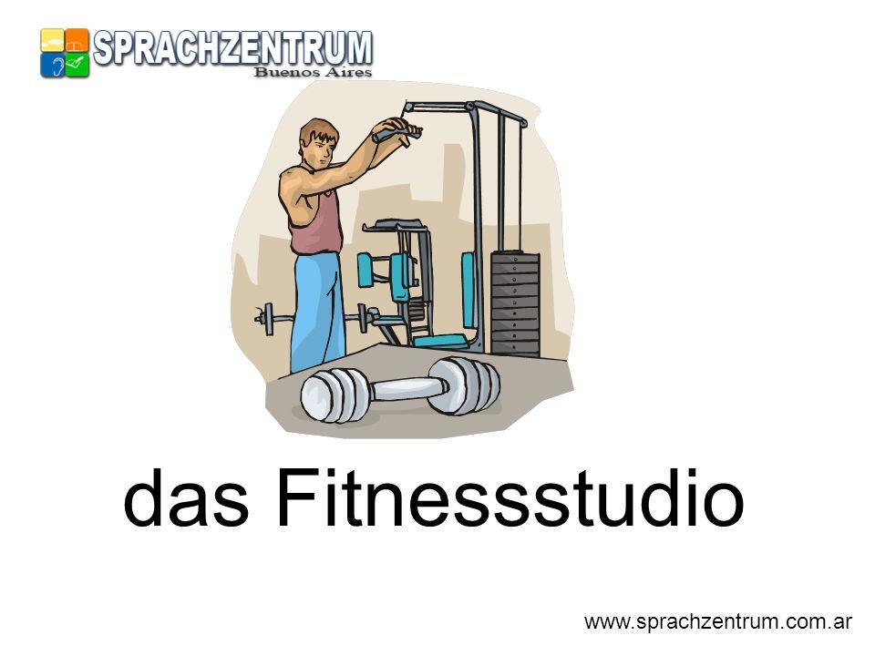 das Fitnessstudio www.sprachzentrum.com.ar