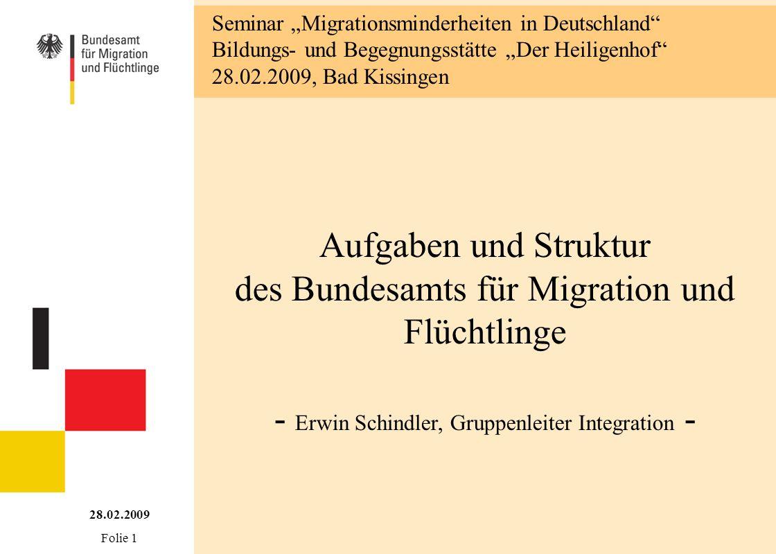 """Seminar """"Migrationsminderheiten in Deutschland"""