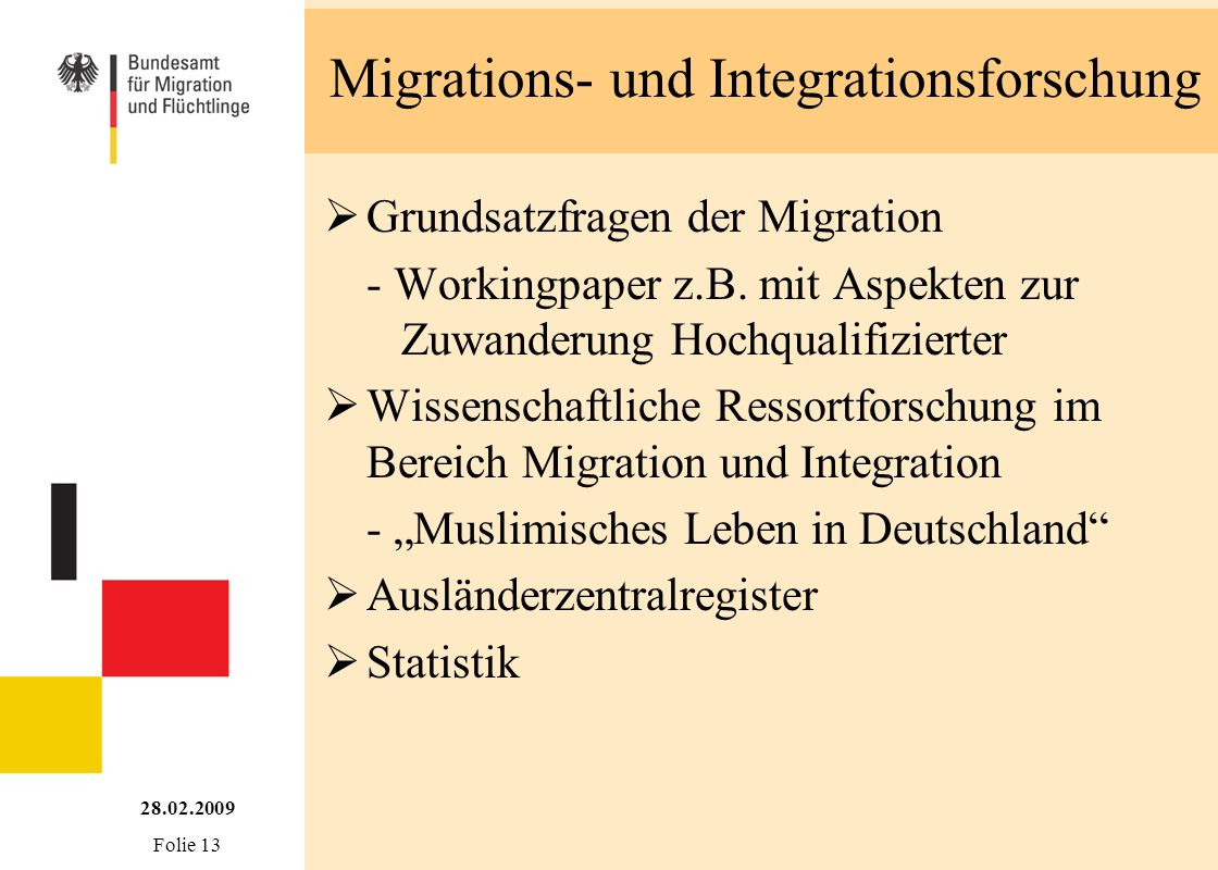 Migrations- und Integrationsforschung