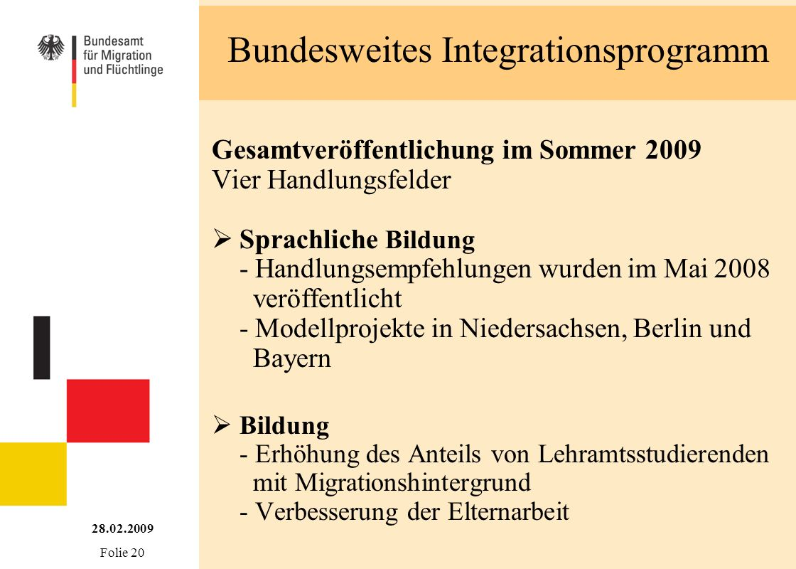 Bundesweites Integrationsprogramm