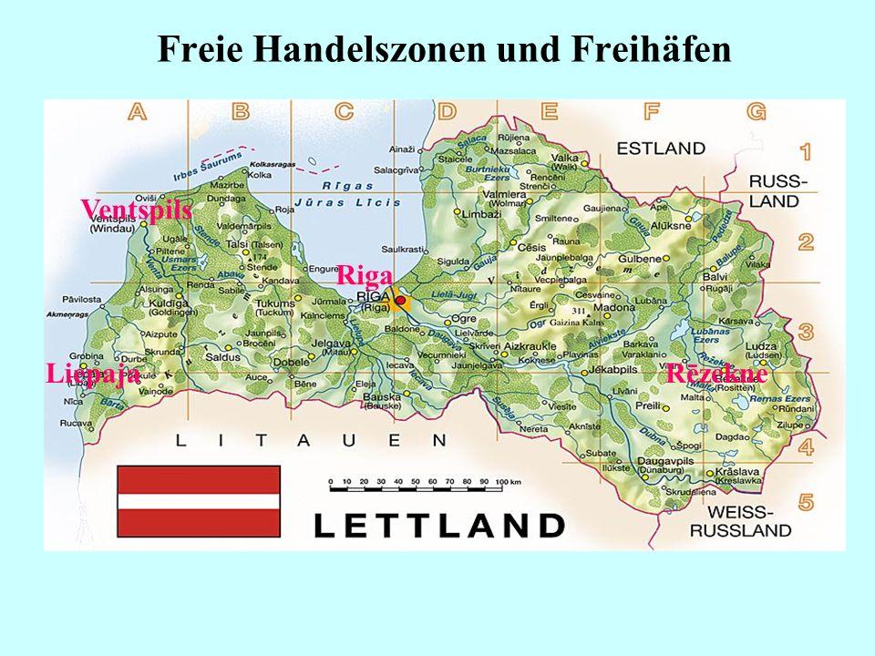 Freie Handelszonen und Freihäfen