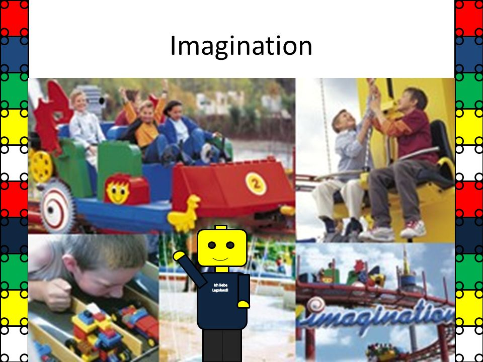 Imagination Ich liebe Legoland!