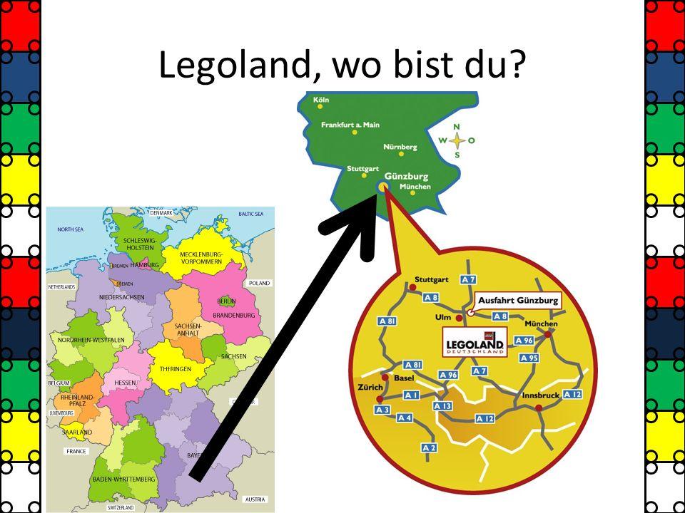 Legoland, wo bist du