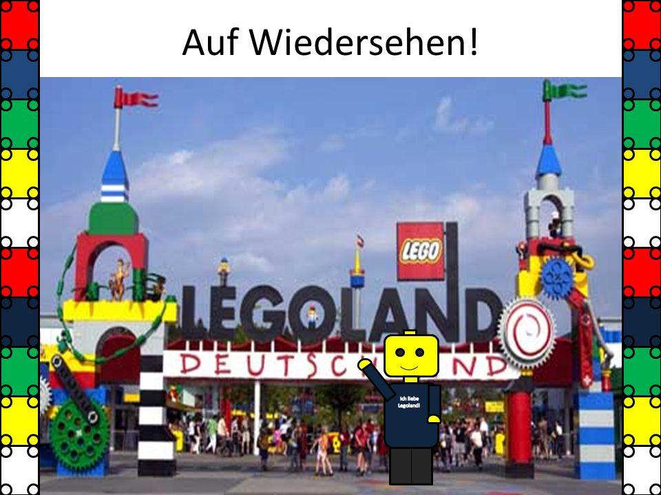 Auf Wiedersehen! Ich liebe Legoland!
