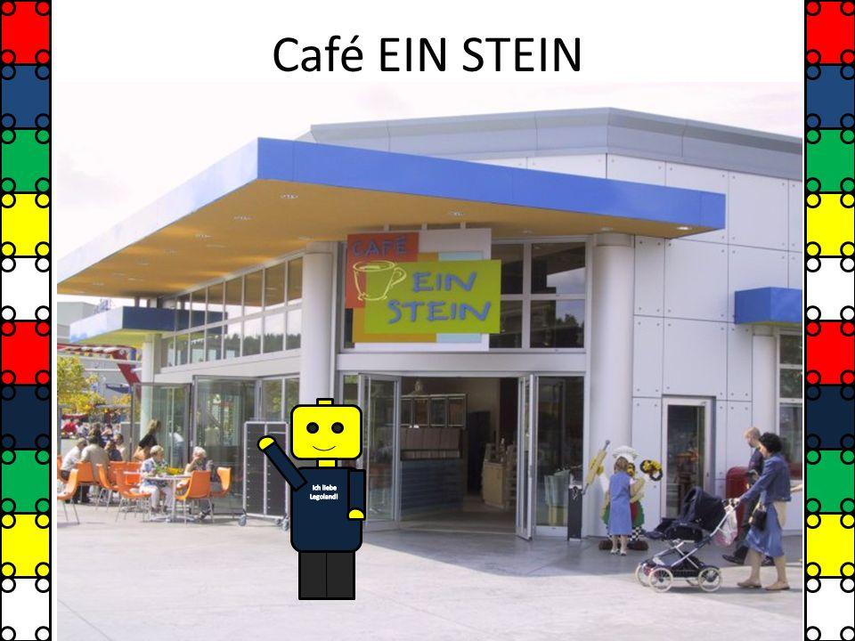Café EIN STEIN Ich liebe Legoland!