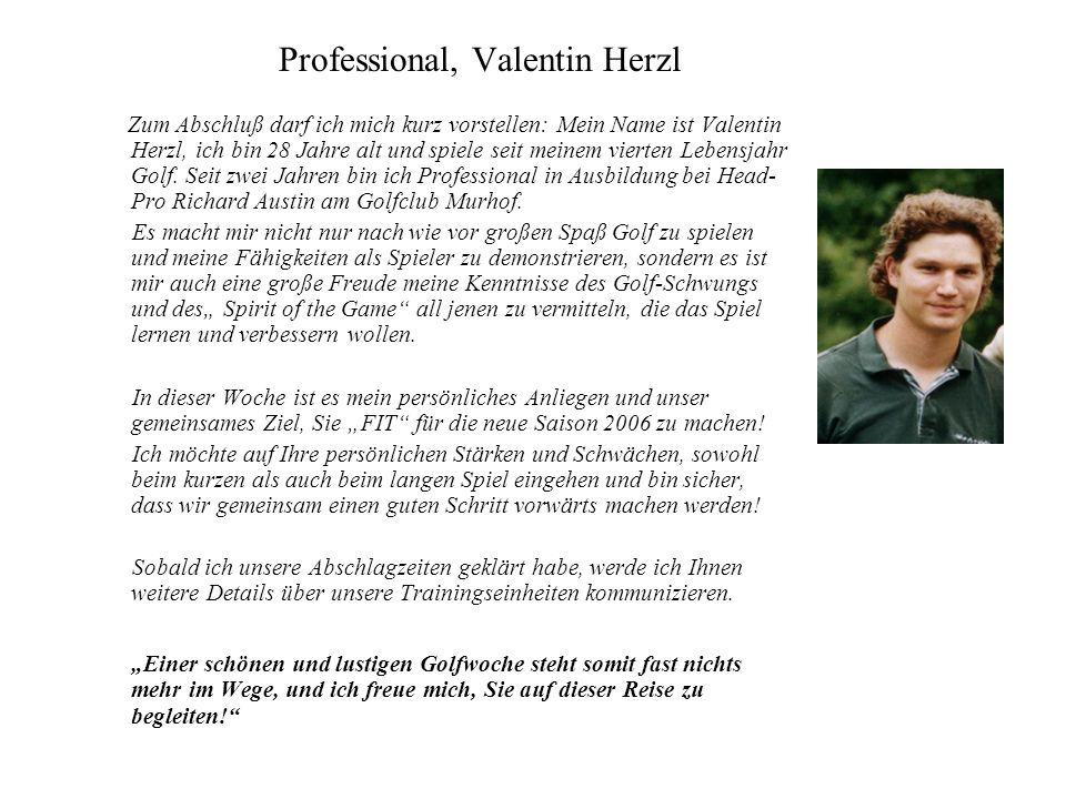 Professional, Valentin Herzl