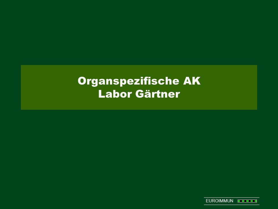 Organspezifische AK Labor Gärtner