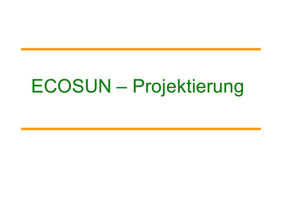 ECOSUN – Projektierung