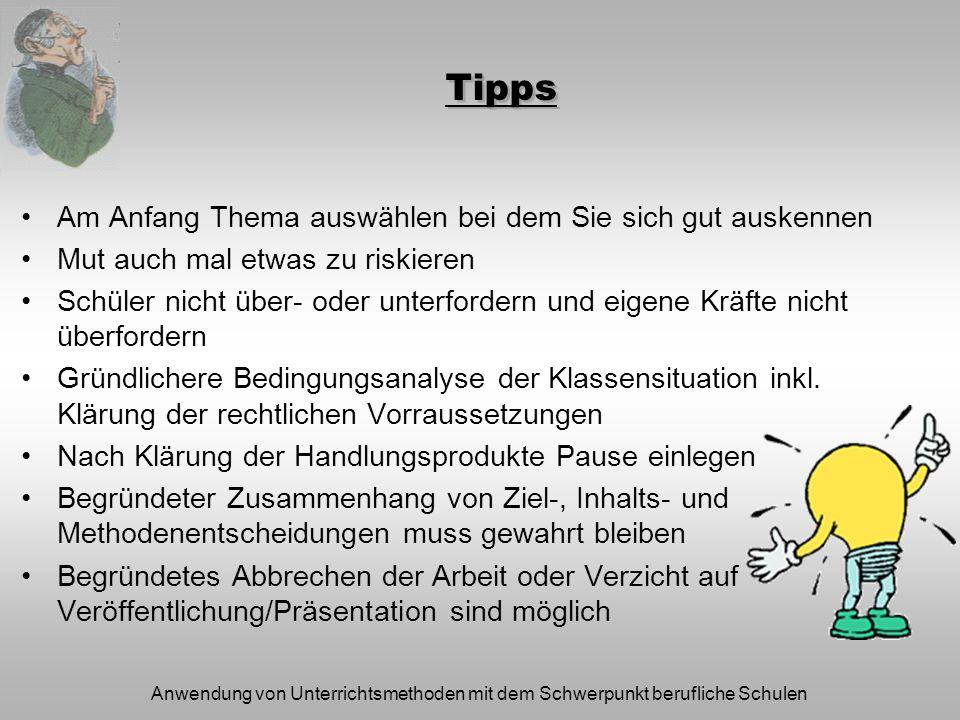 Tipps Am Anfang Thema auswählen bei dem Sie sich gut auskennen