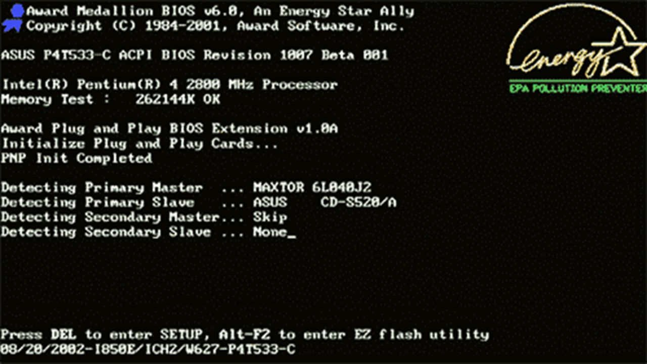 BIOS: Aufgaben POST – Power On Self Test Initialisierung der Hardware