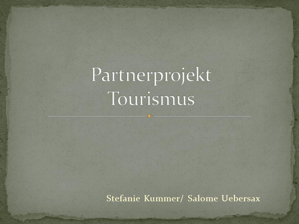 Partnerprojekt Tourismus