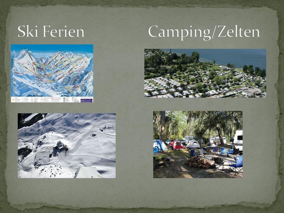 Ski Ferien Camping/Zelten