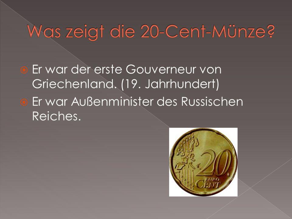Was zeigt die 20-Cent-Münze