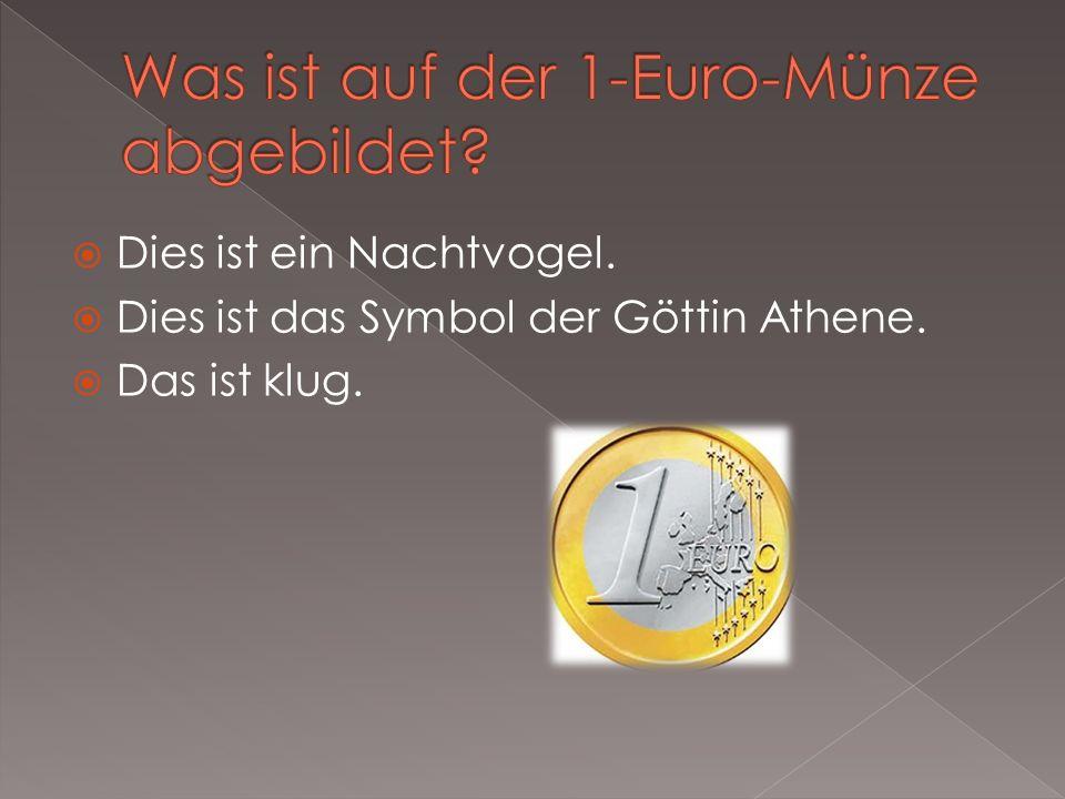 Was ist auf der 1-Euro-Münze abgebildet