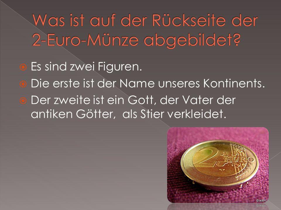 Was ist auf der Rückseite der 2-Euro-Münze abgebildet