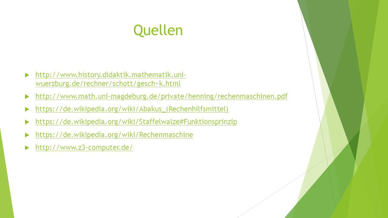 Quellen http://www.history.didaktik.mathematik.uni- wuerzburg.de/rechner/schott/gesch~k.html.