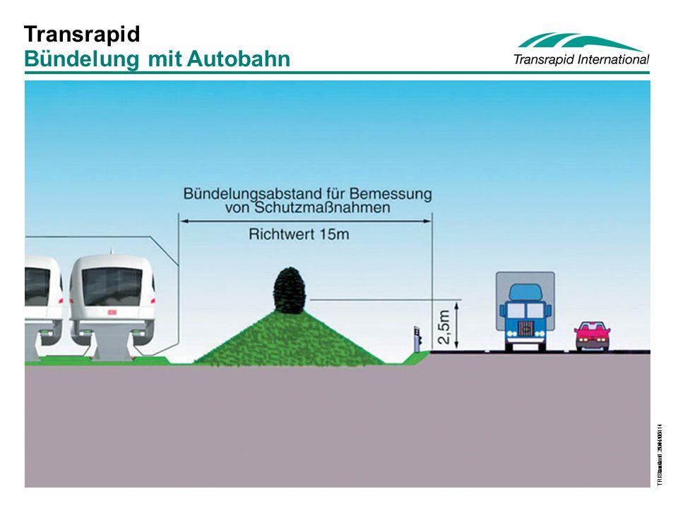 Bündelung mit Autobahn