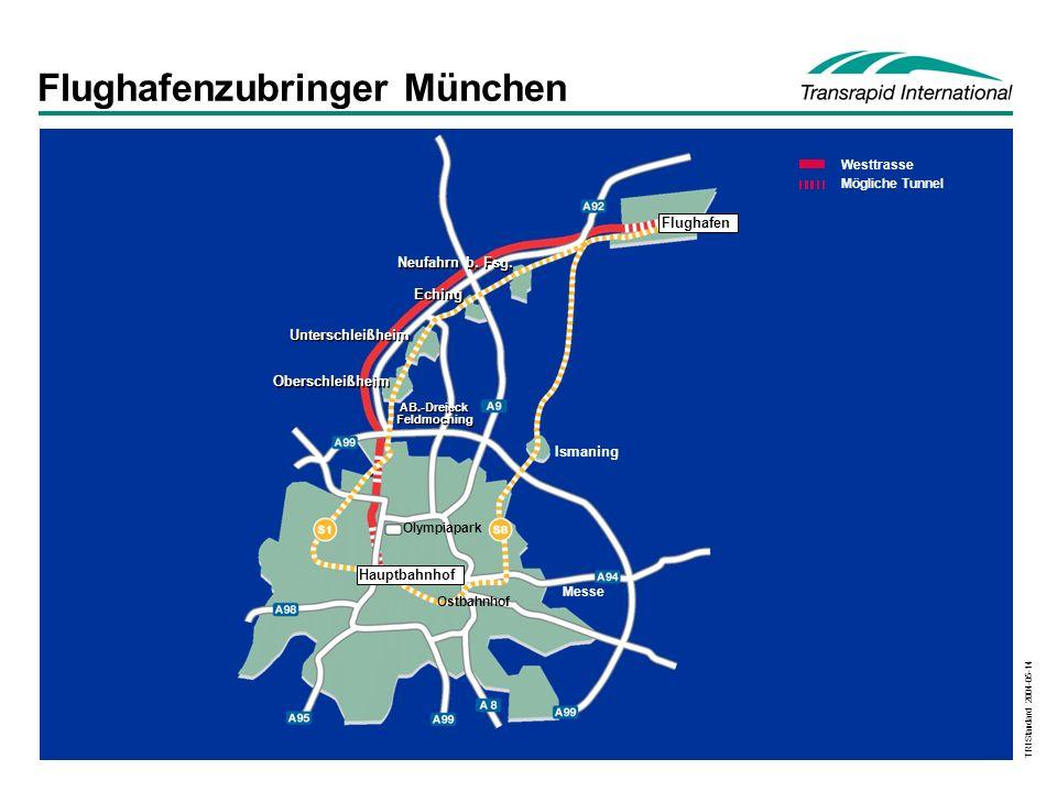 Flughafenzubringer München