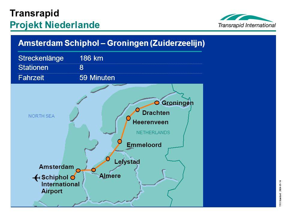 Transrapid Projekt Niederlande