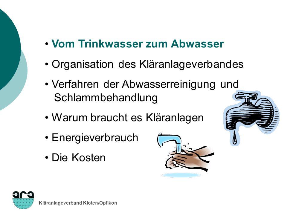 Vom Trinkwasser zum Abwasser