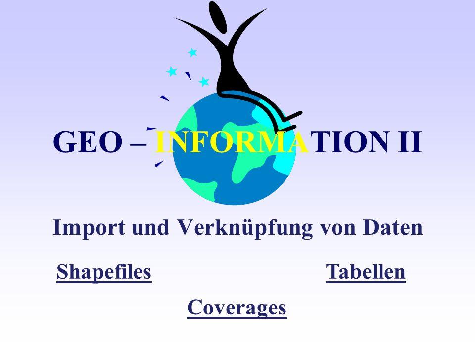Import und Verknüpfung von Daten